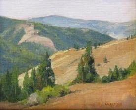 Trailhead View by Wenaha Gallery artist Jim McNamara