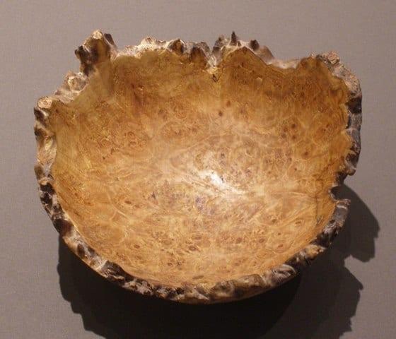 Maple Bowl by Wenaha Gallery artist Rick Woodard
