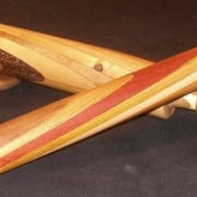 Handcrafted rolling pins by Wenaha Gallery guest artist Rick Woodard.