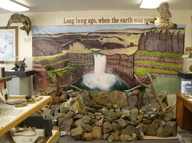 Palus Museum historical site in Dayton WA showcasing the Palouse Indians Lewis and Clark and the pioneering homesteaders