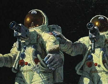 Heavenly Reflections Pete Conrad Alan Bean