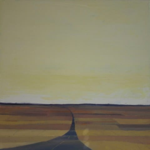Wheat Road, original oil painting by Wenaha Gallery artist Gordy Edberg