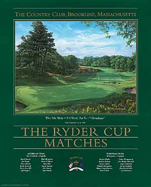 9th Hole Ryder Cup Country Club Brookline, MA