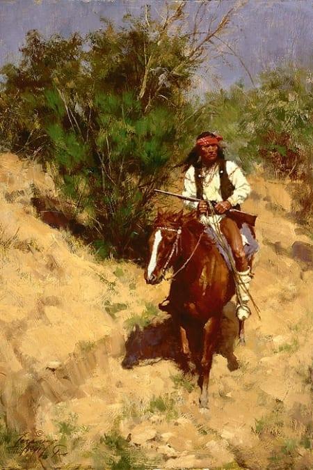 Apache Scout - Howard Terpning