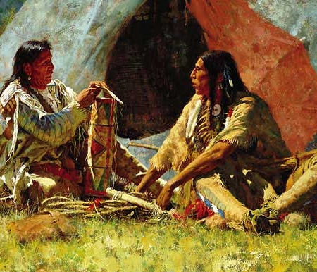 Bonnet Case - Howard Terpning