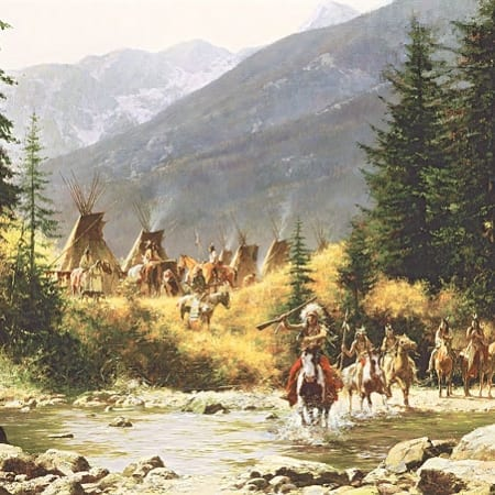 Crow Country - Howard Terpning