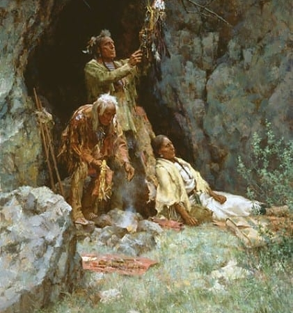 The Healing Power of the Raven Bundle - Howard Terpning