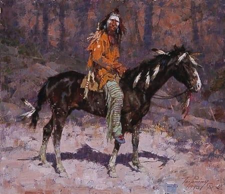 Horse Feathers - Howard Terpning