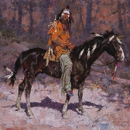Horse Feathers - Howard Terpning