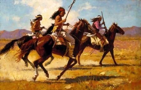 Light Cavalry - Howard Terpning