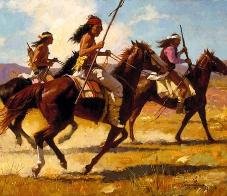 Light Cavalry - Howard Terpning