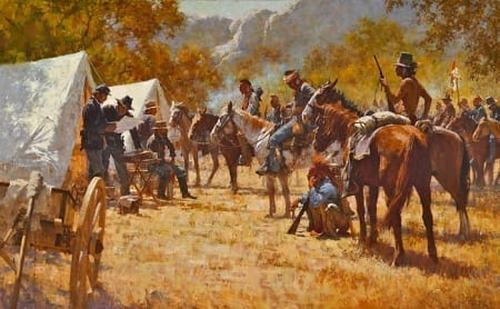 Major North and the Pawnee Battalion