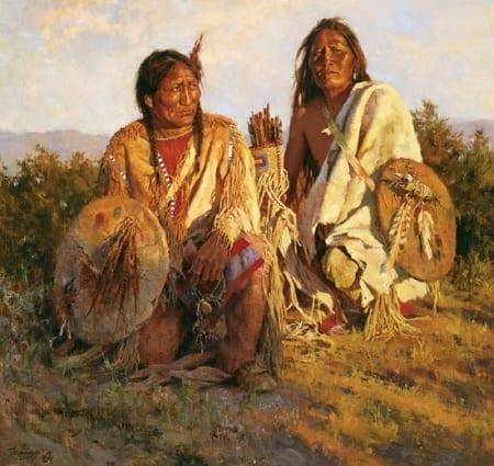 Medicine Shields of the Blackfoot - Howard Terpning