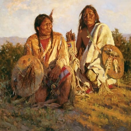 Medicine Shields of the Blackfoot - Howard Terpning