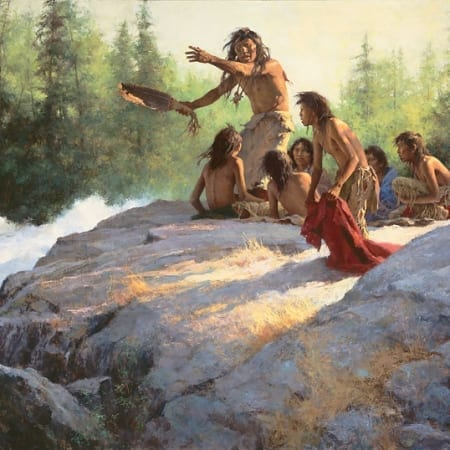 Mystery of the Underwater People - Howard Terpning