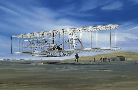 On the Wind - The Wright Brothers