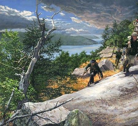 Rogers Rangers Ticonderoga, 1759