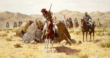 Second Geronimo Campaign - Howard Terpning