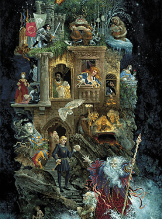 Shakespearean Fantasy - James Christensen
