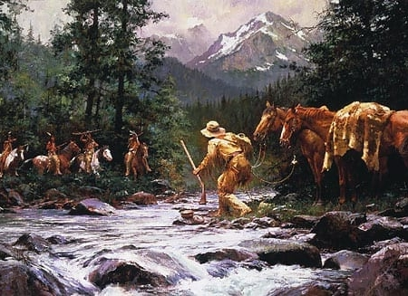 They Came From Nowhere - Howard Terpning