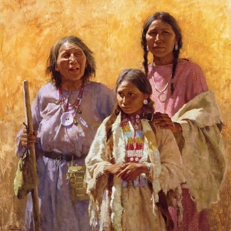 Three Generations - Howard Terpning