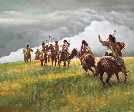 Thunder Speaks - Howard Terpning