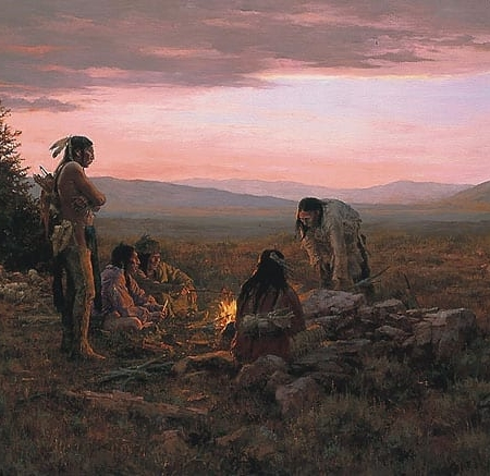 To Capture Enemy Horses - Howard Terpning