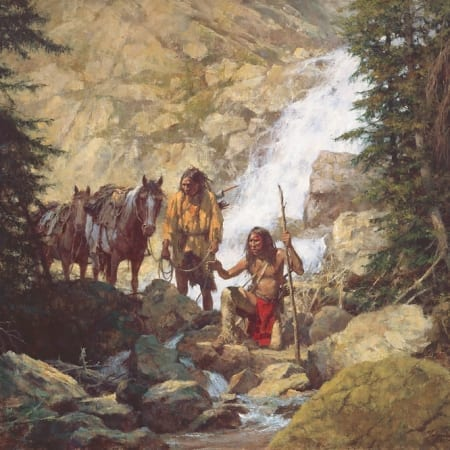 The Trackers - Howard Terpning