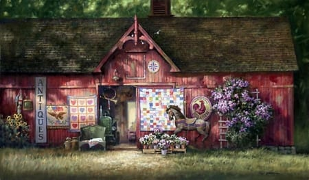Antique Barn - Paul Landry