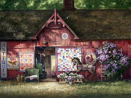 Antique Barn - Paul Landry