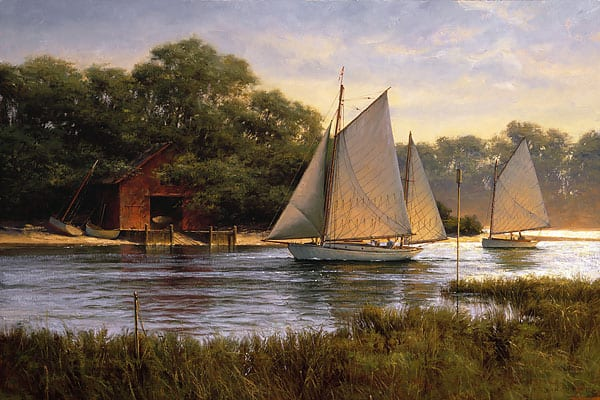 By the Old Boat house