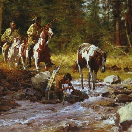 Nectar of the Gods - Howard Terpning
