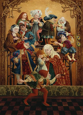 Sharing our Light - James Christensen