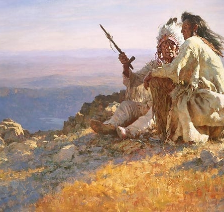 Telling of the Legends - Howard Terpning