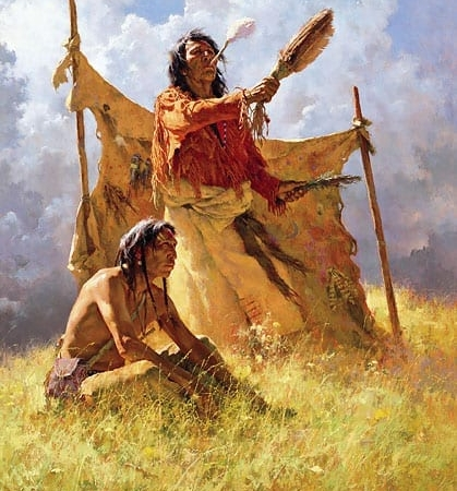 Weather Dancer Dream - Howard Terpning