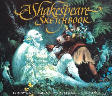 A Shakespeare Sketchbook - James Christensen