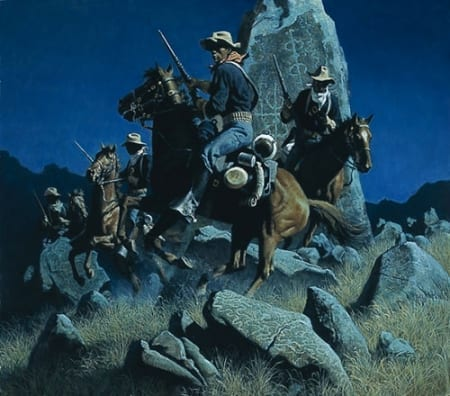 Ambush at the Ancient Rocks - Frank McCarthy