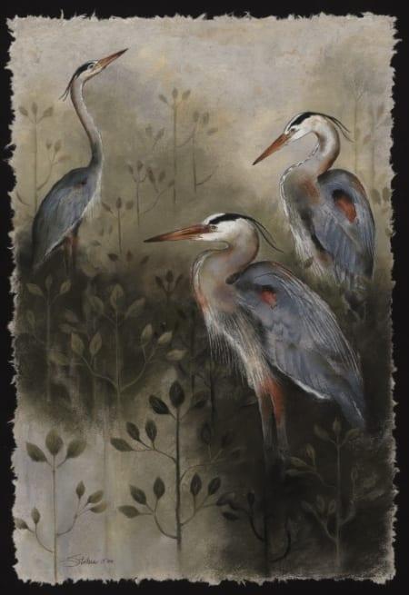 Blue Heron Trio - Monica Stobie