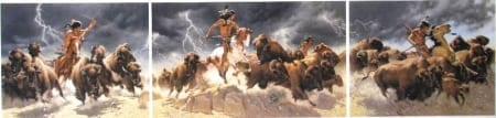 Flashes of Lightning, Thunder of Hooves - Frank McCarthy