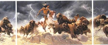 Flashes of Lightning, Thunder of Hooves - Frank McCarthy