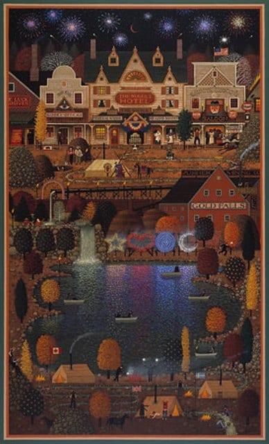 Gold Falls - John Simpkins