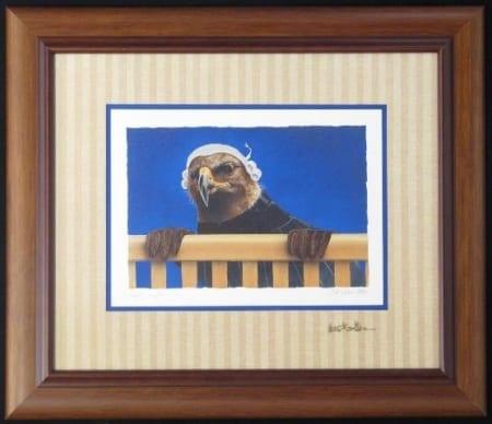 Legal Eagle Framed