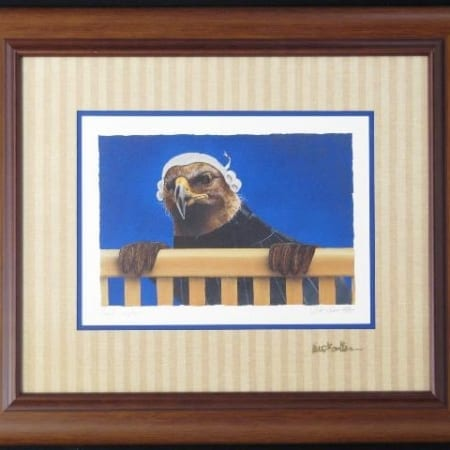 Legal Eagle Framed