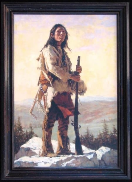 Long Trail Ahead - Howard Terpning