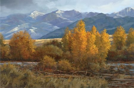 Morning in Montana - Paco Young