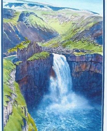 Palouse Falls in April Randy Klassen - Copy