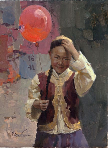 Red Balloon - Mian Situ