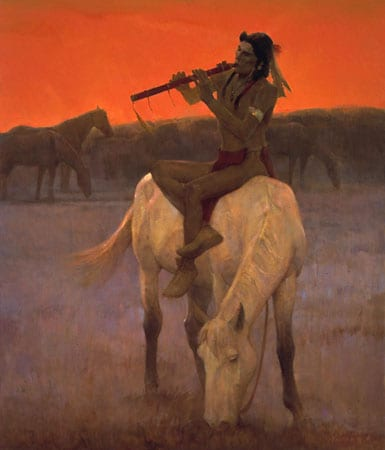 Red Flute - Kenneth Riley