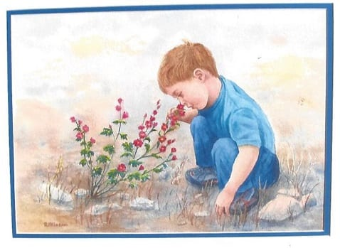 Smelling the Flowers, Randy Klassen - Copy