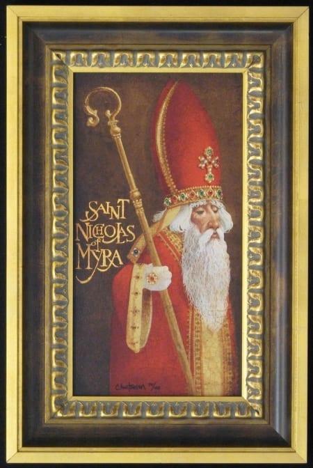 St. Nicholas of Myra - James Christensen